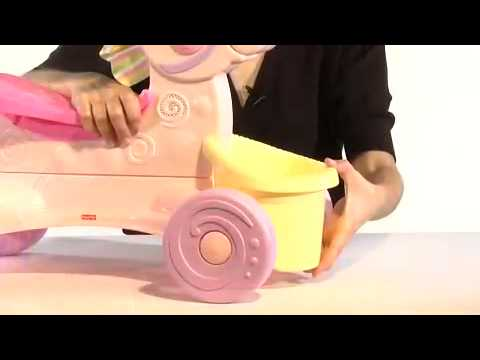 Brilliant Basics Roll Along Musical Pony