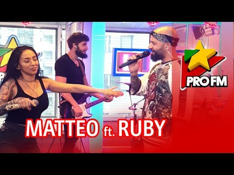 MATTEO feat. RUBY - Drama | ProFM LIVE Session (PREMIERA)