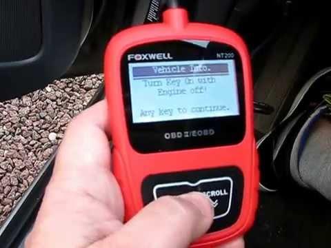 Foxwell Scan Tools - NT301 Software Update Procedure | Doovi