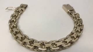 "Как сделать золотой браслет «2-й Московский Бит».How to make a gold bracelet ""Moscow Bit"""