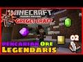 Pencarian Ore Legendaris !!! #02 | Minecraft PE Modded Survival | Greget Craft