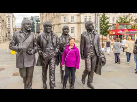 Crosby Beach, Liverpool and Anfield trip 10/07/2016