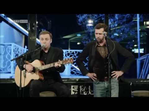"Stefan Leonhardsberger und Martin Schmid mit ""Da Billi Jean is ned mei Bua"""