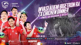 PMPL INDONESIA S3 | W2 D2 | SAMSUNG GALAXY S21 SERIES 5G | INVASI ALIEN! BIGETRON  2X CHICKEN DINNER