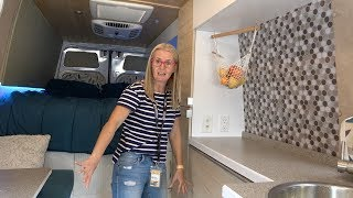 Coffin Carrier to Epic Camper Van Tour // DIY Sprinter Van Conversion
