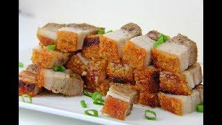 Crispy Pork Belly #TastyTuesdays | CaribbeanPot.com thumbnail