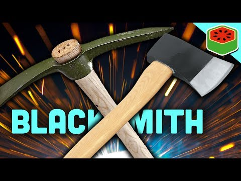 MINING, CUTTING, SMELTING... HORSES!? | My Little Blacksmith Shop #7