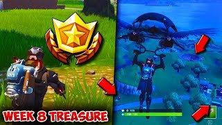 SEASON 4 WEEK 8 TREASURE HUNT CHALLENGE | Search Between a Bear, Crater and a Refrigerator Shipment