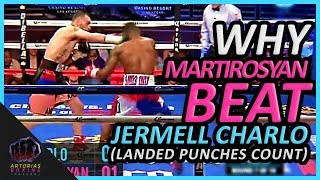 Why Vanes Martirosyan Beat Jermell Charlo (Landed Punches Count) #GGGMartirosyan