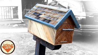 Wooden Mailbox (from Trash To Christmas Present) - Jackman Carpentry