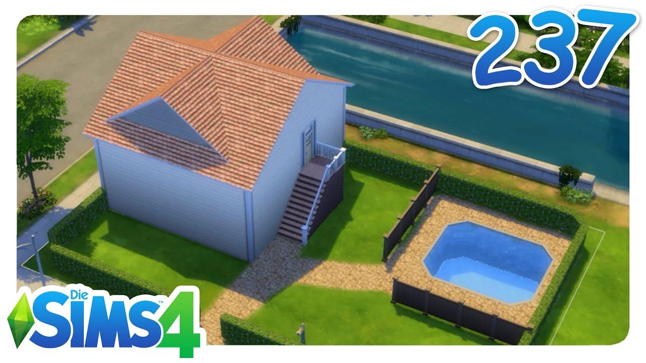 Sims 4 [Outdoor Leben]: Ein Sichtschutz Für Den Pool #237 | Letu0027s Play ☆  [GERMAN/DEUTSCH]