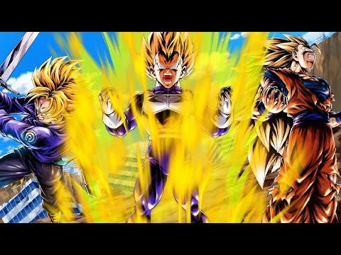 I FORGOT HOW GOOD THIS UNIT WAS! | Transforming Vegeta | LF SS3 Goku | Future Trunks | Dragon Ball |