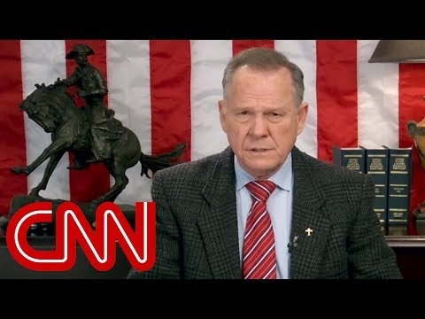 Roy Moore releases new video, doesn