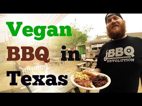 Vegan Barbecue in Texas?? BBQ Revolution in Austin