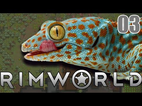 Gekkos zum Frühstück   Rimworld Beta 18 mit Dennis #03