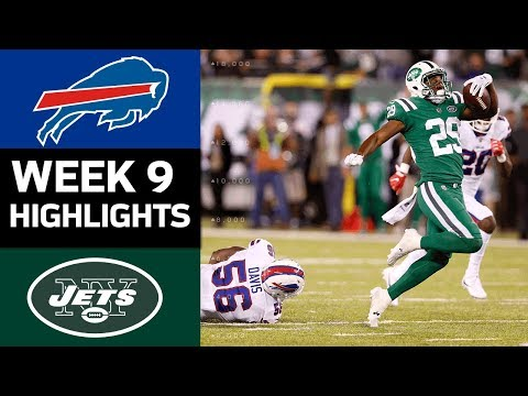 Bills vs. Jets | NFL Week 9 Game Highlights