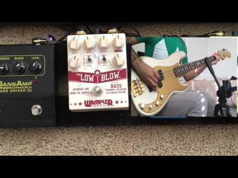 Wampler Low Blow Bass Overdrive Demo