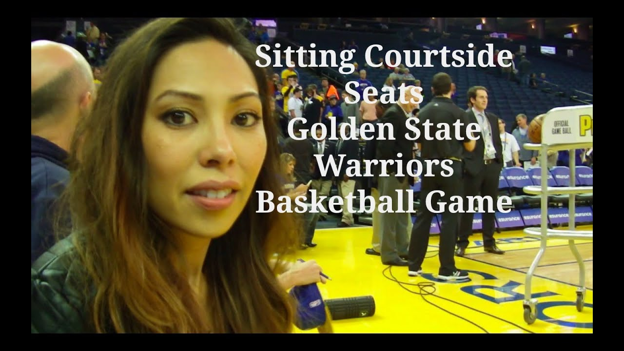 Can Asian lady courtside lakers