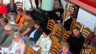 2e week van Zingen in de Zomer 2012 in het Kerkje aan de Zee.wmv