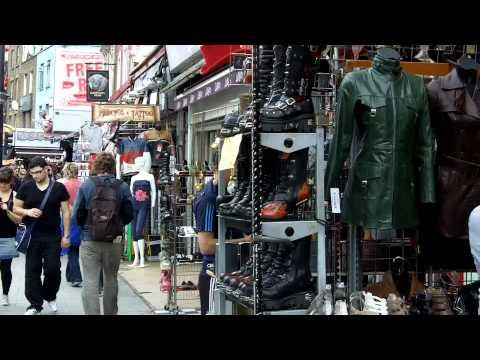 Camden Town Market, London