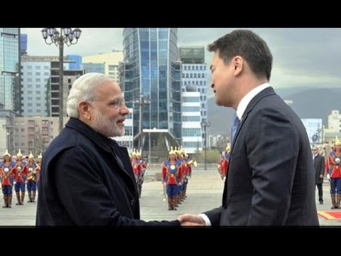 PM Narendra Modi Announces $1 Billion Credit Line to Mongolia