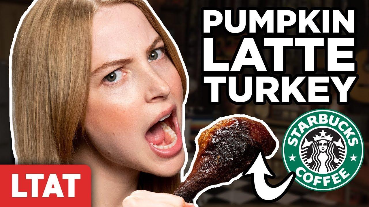 Pumpkin Spice Latte Turkey Taste Test