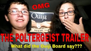 THE POLTERGEIST TRAILER (OUIJI BOARD AND DOWSING ROD SESSION) DISEMBODIED VOICES WERE WARNING US