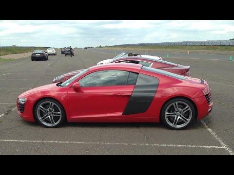 Audi R8 - Prestwold Driving Centre - 05/07/2014
