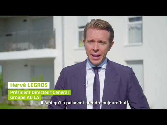ALILA – Inauguration DOMINO à Arnas - Bernard PERRUT (Député du Rhône) et Hervé LEGROS (PDG ALILA)