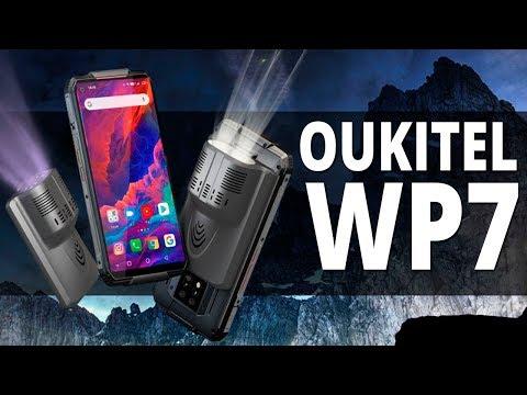 Oukitel WP7: Защищенный смартфон со сменными модулями