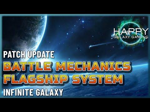 Infinite Galaxy - Auxiliary Flagships, New Battle Mechanics, Awakening Skills and Reset Events