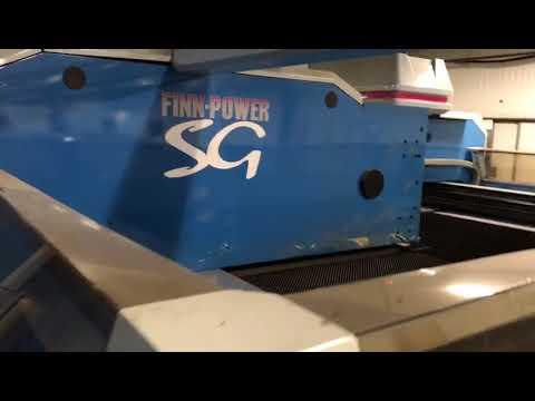 Finn Power SG6 TR6S Combined CNC punching shearing machine 10
