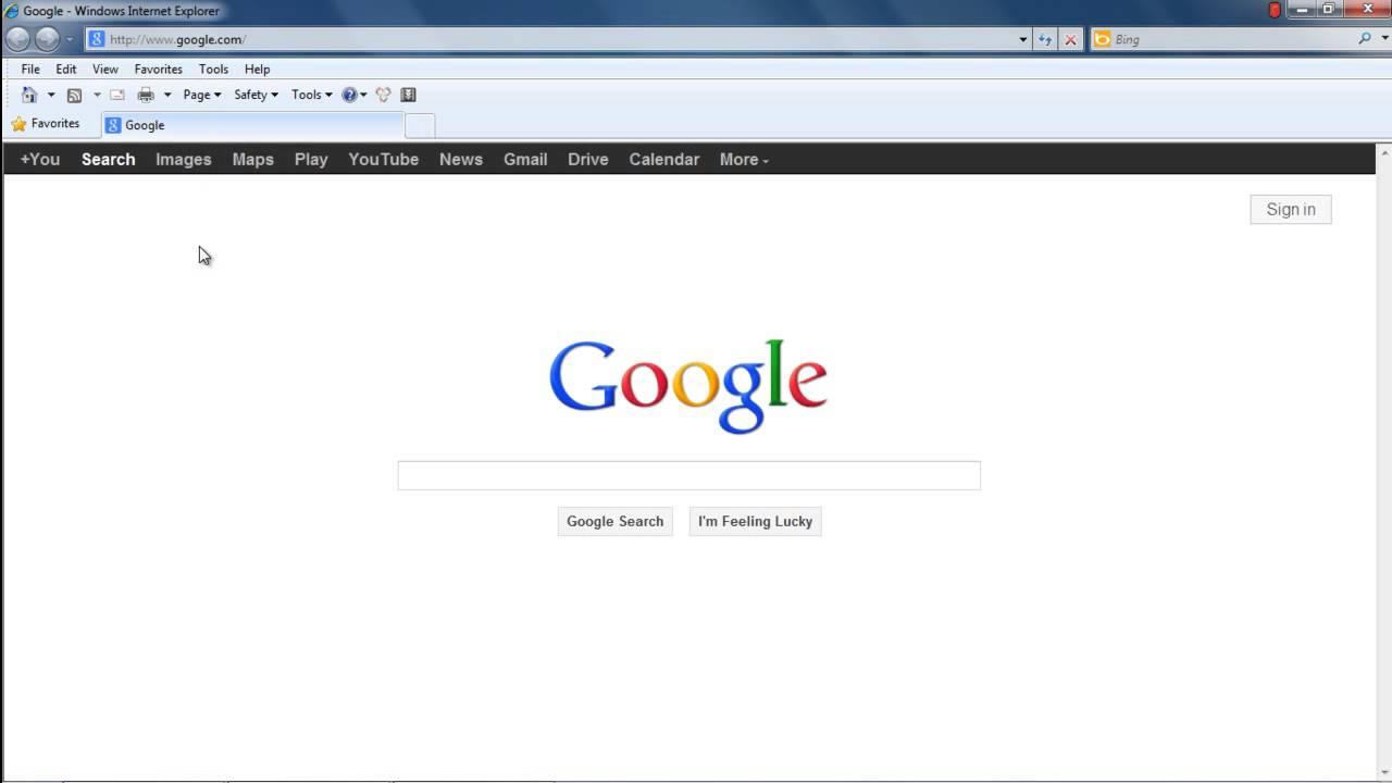 Bar Windows Explorer Navigation