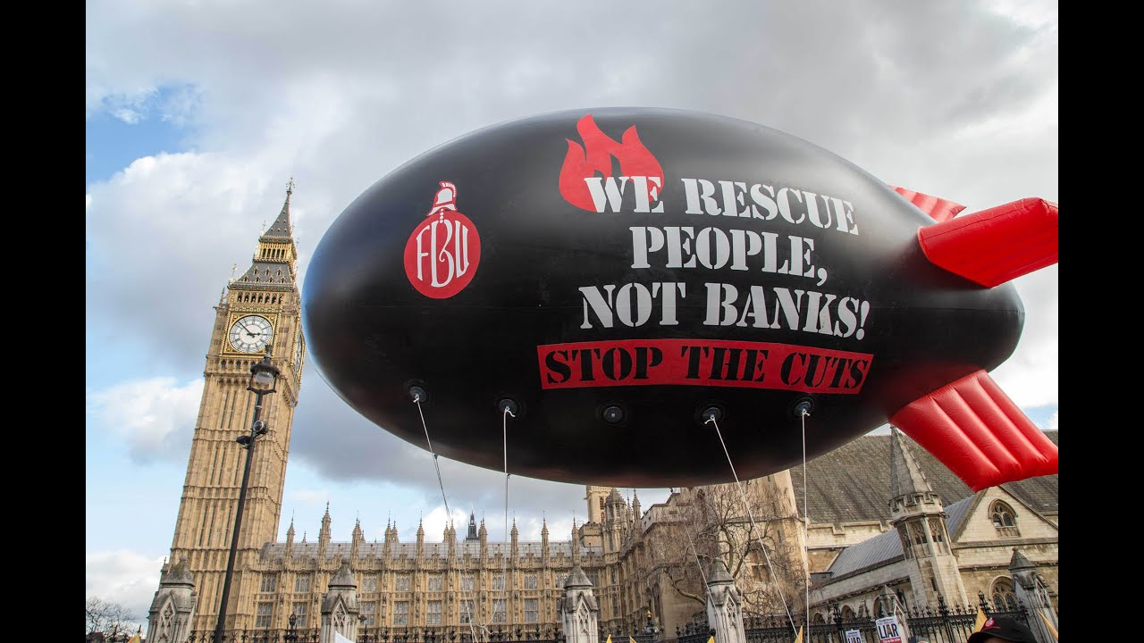 Image result for we rescue people not banks