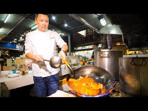 The IRON CHEF CHAMPION of Thailand – Insane THAI FOOD Cooking Skills in Bangkok!