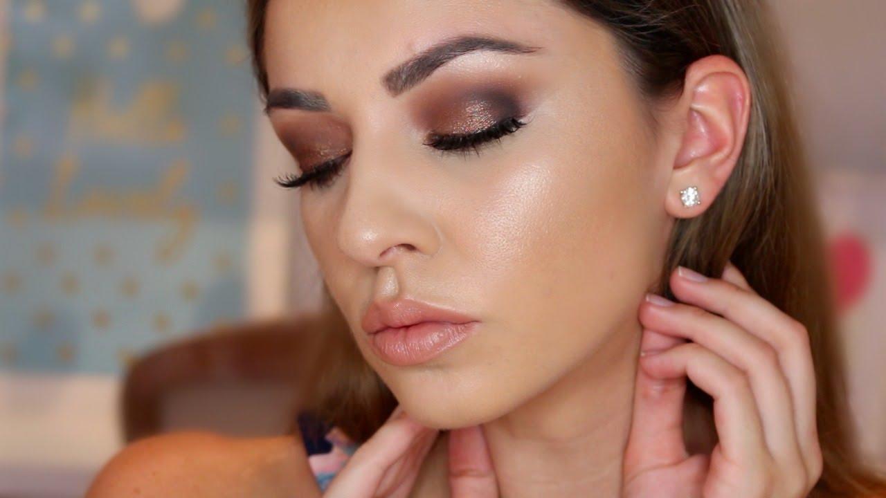 Eye makeup for hooded eyes video