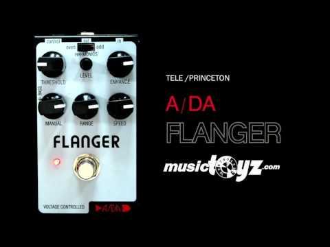 ADA PBF Flanger Pedalboard Size Guitar Pedal