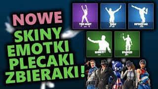 NEW EMOTES, SKINS, RUCKS AND GATHERERS IN FORTNITE! + NEW WEAPONS AND REPLACEMENT?