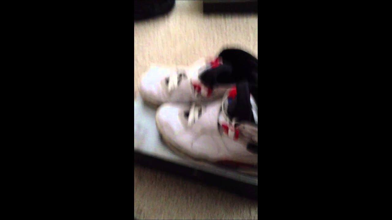 ac8a3446ef8a Air Jordan Retro 8 Bugs Bunny 2003 review  on feet - YouTube