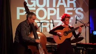 Afra Rubino - The Double Bass Project @ Guitar People's Prize - Fuego Fatuo