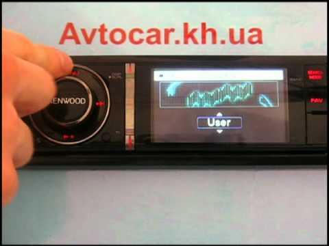 Видеообзор автомагнитолы Kenwood KIV-700 avtocar.kh.ua
