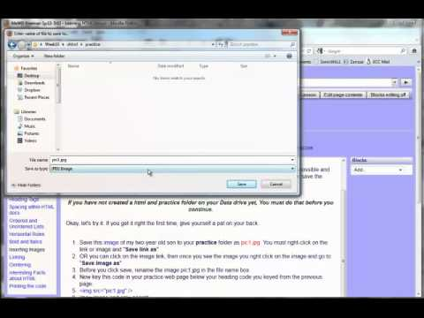 3.02 XHTML Lesson Part 2