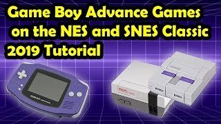 How to play Game Boy Advance games on your NES and SNES Classic with Hakchi CE (2019 Tutorial)
