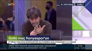 Rıdvan Dilmen ve Murat Kosova ile %100 Futbol (Konyaspor-Galatasaray | 5 Ocak 2020)