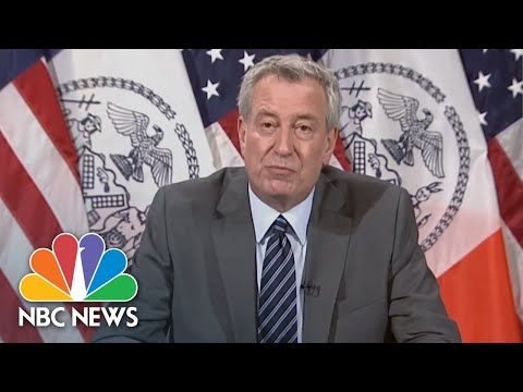 Mayor Bill De Blasio Announces Start Of Phase 3: ''Today Is A Good Day'' | NBC News NOW