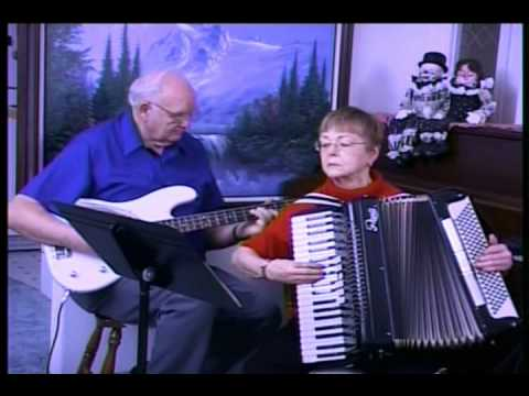 Bass and Accordion Duet  Where The Roses Never Fade
