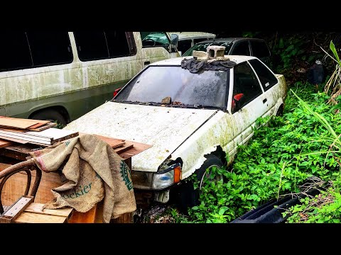 I Found A Toyota AE86 Hachiroku in JAPAN - JDM Rust Buckets