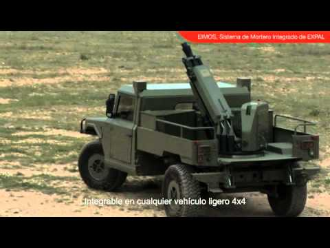 Eimos Expal 60mm 81mm Integrated Mortar System Light