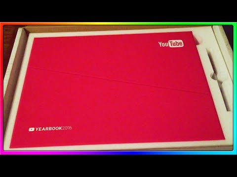 YouTube Sent Me The 2016 YouTube Yearbook! | EXTREMELY Professional Unboxing