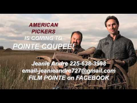 American Pickers is Coming To Pointe Coupee!